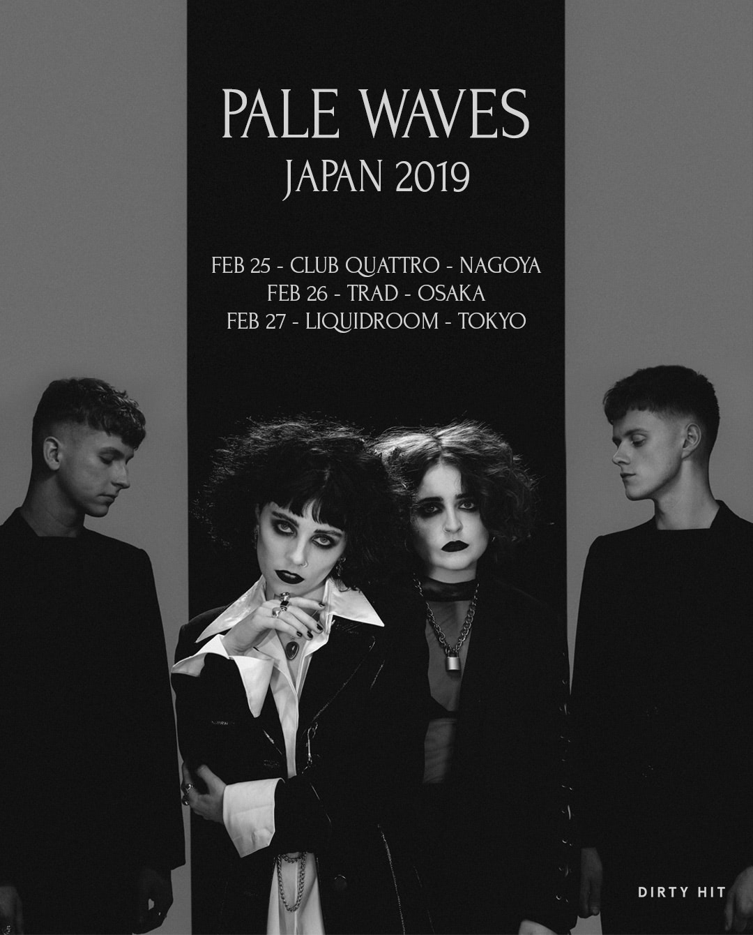 PALE WAVES JAPAN TOUR 2019