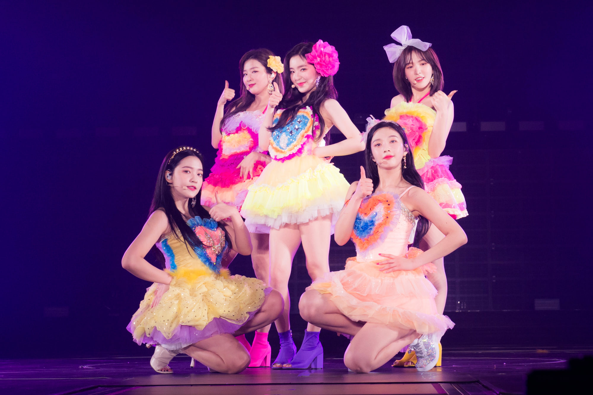 横浜アリーナで開催された「Red Velvet ARENA TOUR in JAPAN