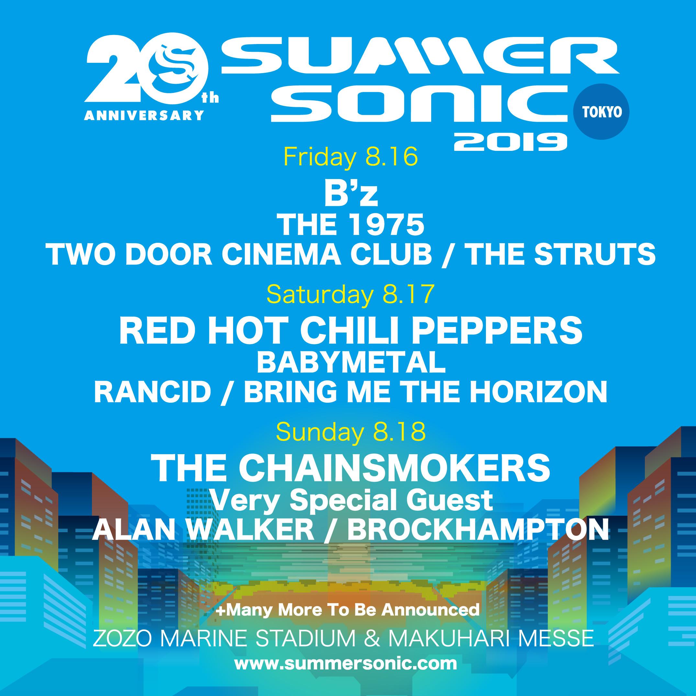 SUMMER SONIC 2019 - TOKYO