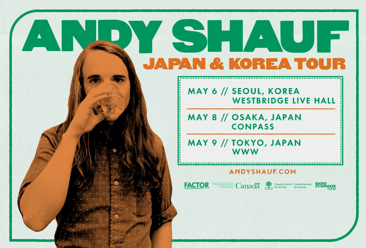 INDIE ASIA presents Andy Shauf Asia Tour 2019