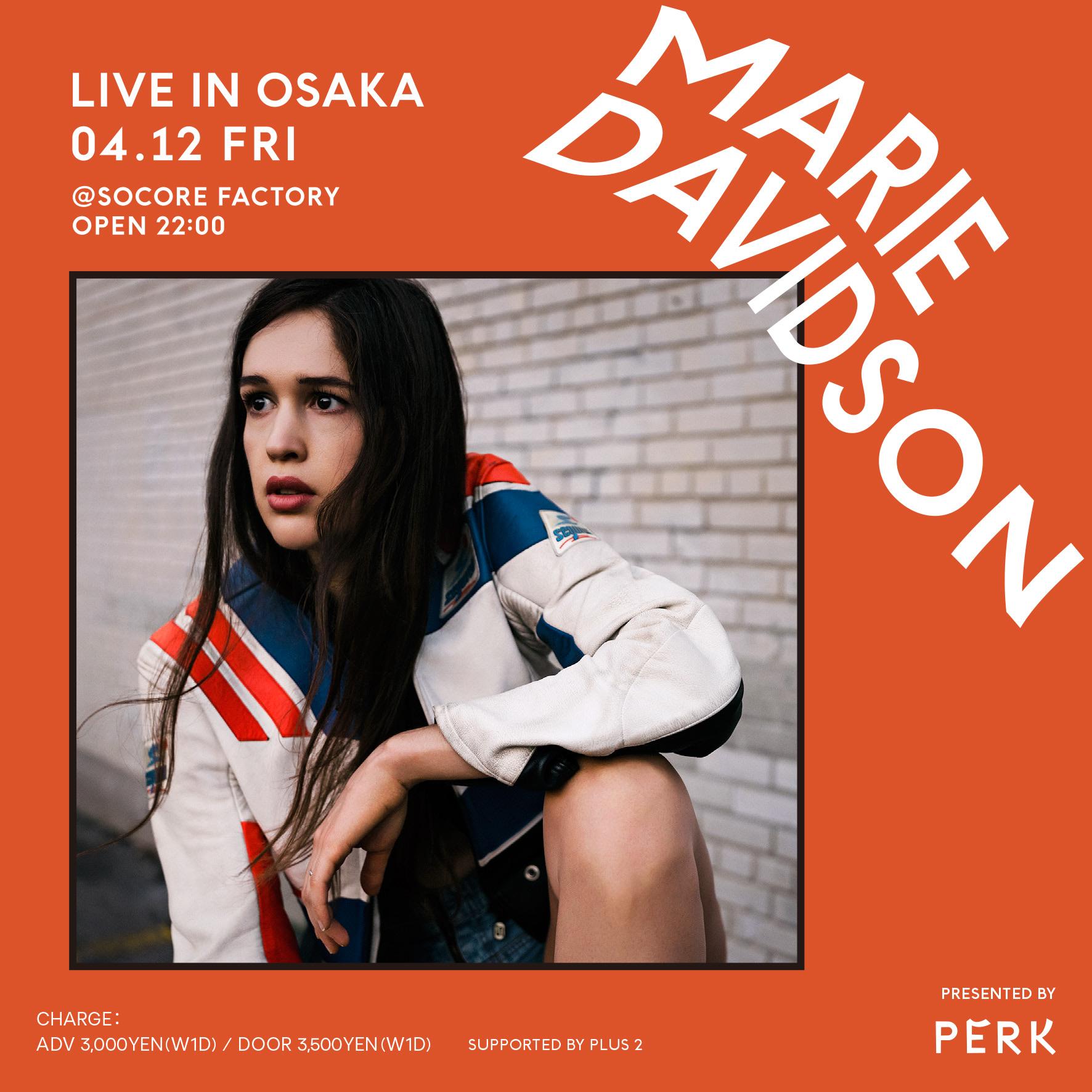 Marie Davidson LIVE IN OSAKA