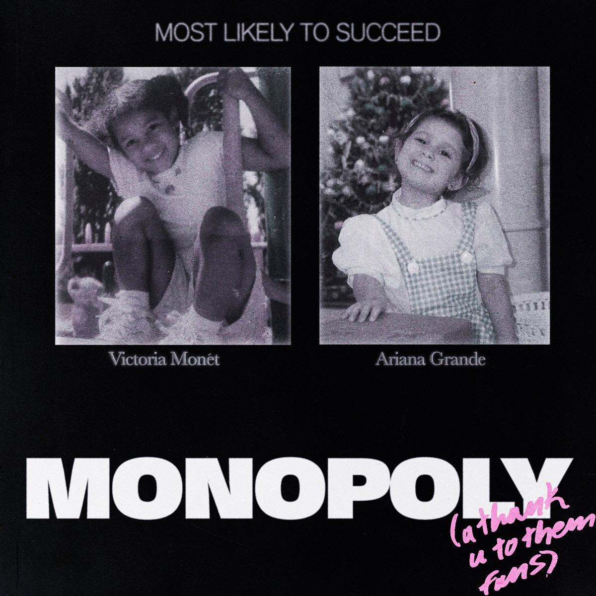 アリアナ・グランデ&ヴィクトリア・モネ 「MONOPOLY」