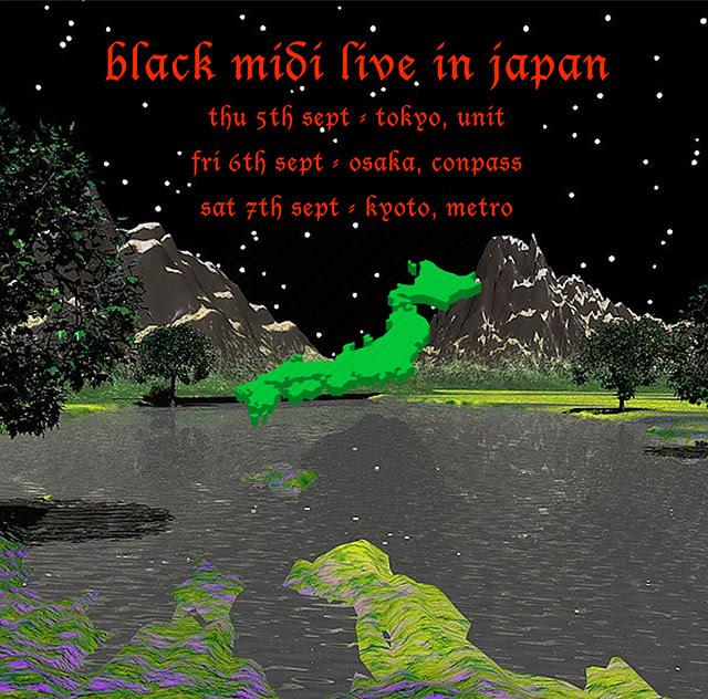 black midi live in japan