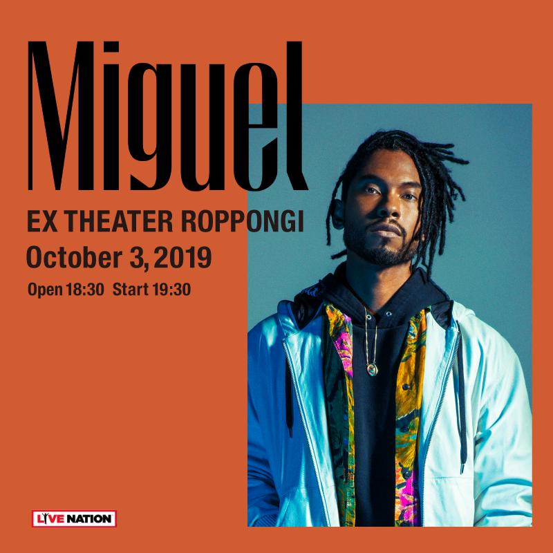 Miguel来日公演
