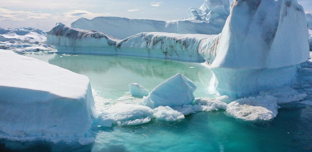 北極圏グリーンランドで史上最高気温を計測、氷床の融解が急加速