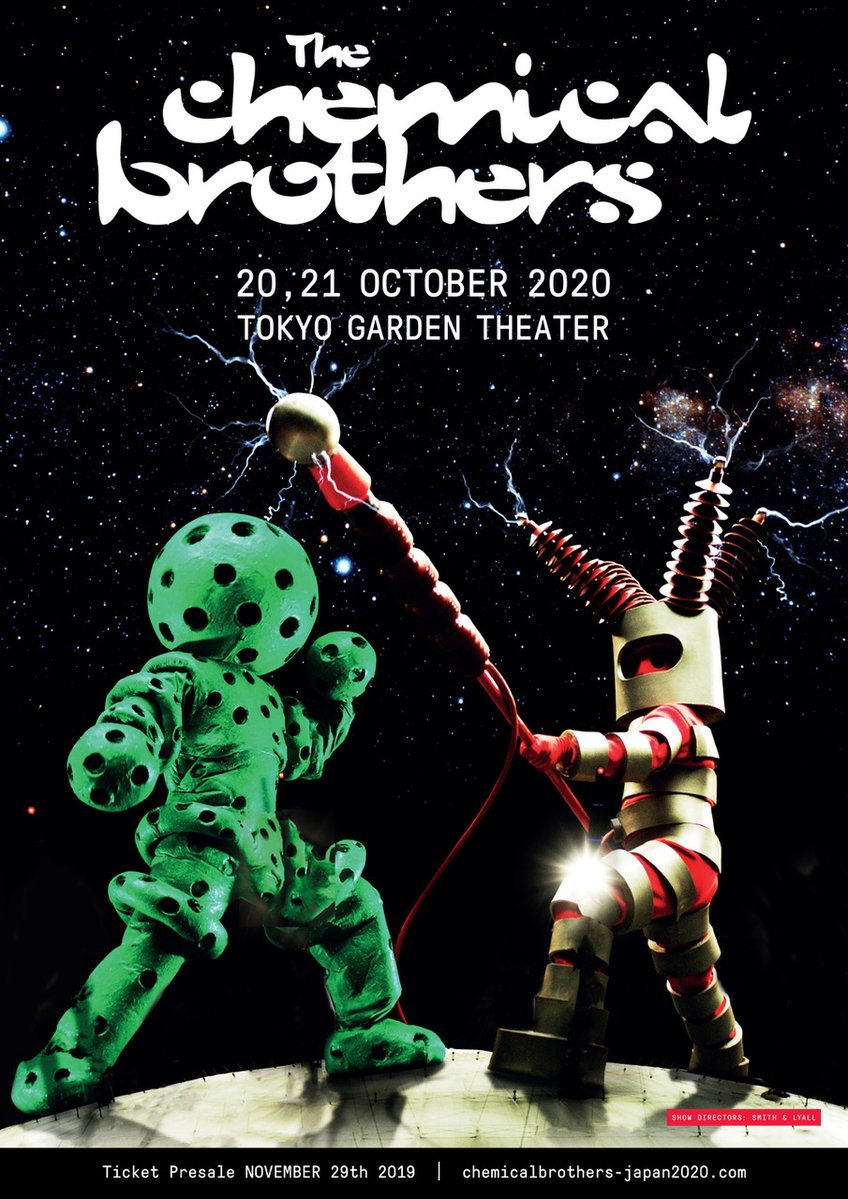 The Chemical Brothers NO GEOGRAPHY TOUR -LIVE IN JAPAN